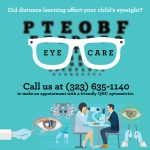 Did distance learning affect your child's eyesight?